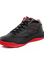 Men's Athletic Shoes Fall Comfort Microfibre Athletic Black / Red / Royal Blue