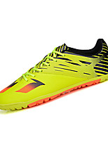 Boy's Athletic Shoes Spring Summer Fall Winter Comfort PU Casual Athletic Flat Heel Lace-up Black Yellow White Silver