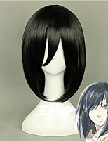 High Quality   Anime Howl's Moving Castle Wizard Howl Short Black Cosplay Wig Synthetic Hair Party Wig