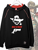 Cosplay Suits Inspired by Mccree Overwatch Cosplay Accessories Shirt  Cotton Unisex