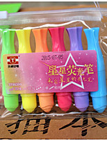 Fluorescent Pen Set (6PCS)
