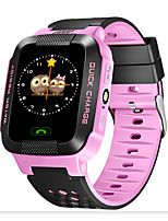 Dark Pink Add Lighting Large Color Screen Touch Screen Location Phone Watch
