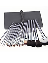 20 Makeup Brushes Set Nylon Professional / Full Coverage / Portable Wood Face / Eye / Lip Others