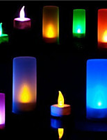 Fashion Baby! Colorful Sound Can Be Blown Out Of Electronic Candle Lamp Electronic Candle Light Random