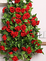 1 1 Branch Others Roses Wall Flower Artificial Flowers