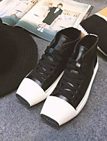 Women's Sneakers Fall Winter Others Leather Casual Black White