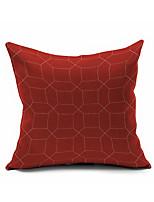 1 Stück Baumwolle/Leinen Kissenbezug,Geometrisch Modern/Zeitgenössisch / Akzent dekorativen