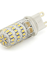 Top Lighting 3W G9 Silicone LED Mini Corn Lamp 45 SMD 3014 260Lm Warm or Cool White 220V AC (1 Piece)