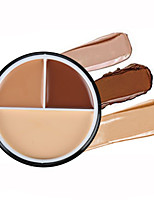 Concealer/Contour Powder Long Lasting / Concealer / Uneven Skin Tone / Natural Face Clever Cat 3 Color