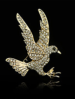 Fashion Diamond Eagle brooch