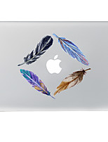 1 pièce Anti-Rayures Jeux Avec Logo Apple En Plastique Transparent Décalcomanie Motif PourMacBook Pro 15'' with Retina / MacBook Pro 15