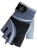 DLGDX® Luvas Esportivas Homens Luvas de Ciclismo Primavera / Verão / Outono Luvas para CiclismoAnti-Derrapagem / Camurça de Vaca á