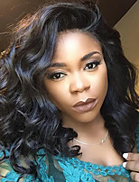 Synthetic L Part Wigs Curly Natural Black Color Top Quality Heat Resistant Synthetic Hair Wigs For Women