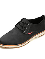 Men's Oxfords Fashion Leather Shoes Comfort Suede Shoes Office & Career Casual Low Heel Lace-up EU39-43