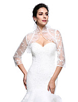 Women's Wrap Shrugs Lace Wedding Party/Evening Lace