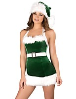 Newest Tassels Christmas Costumes Women's Stage Performance Clothing Adult Christmas Party Dress