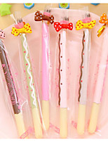 Cute Cookies Stick Carbon Neutral Pen(12PCS)