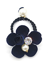 Women Cubic Zirconia / Imitation Pearl / Fabric Headband,Vintage / Party / Work / Casual