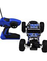 Buggy 1:18 RC Car Blau Fertig zum Mitnehmen Ferngesteuertes Auto / Fernsteuerung/Sender / Akku-Ladegerät / Batterie für Auto