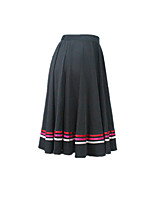 Black Character Skirts with 3 Colors Ribbons Dance Exam Skirts for Girls and Ladies
