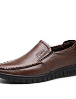 Men's Loafers & Slip-Ons Spring / Fall / Winter Others Leatherette Outdoor / Office & Career / Casual Flat Heel Others Black / Brown Loafer & Slip-On