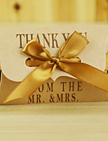 The wedding gift 12 Piece/Set Thank you Favor Holder-Pillow Card Paper Favor Boxes / Candy Jars and Bottles / Gift Boxes