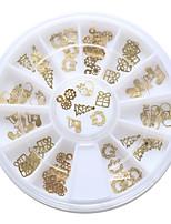 60Pcs/box Unha Arte Decoração strass pérolas maquiagem Cosméticos Prego Design Arte