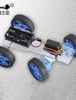 Crab Kingdom Freescale Racing Remote Control Car Upgrade Version of The Wide Wheel / Narrow Round Version of The DIY Assembly Materials Package
