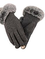 automne et cheveux d'hiver super épais gants chauds