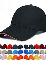 Pure color blank cap Baseball cap cap team working cap Breathable / Comfortable Unisex BaseballSports polyester
