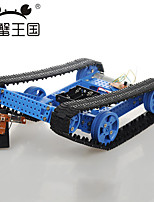 Crab Kingdom DIY Assembling Toy Combination With Remote Control High Torque Motor Cross - Barrier Crawler Car No. 29