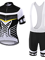 WOLFKEI Summer Cycling Jersey Short Sleeves BIB Shorts Ropa Ciclismo Cycling Clothing Suits #14