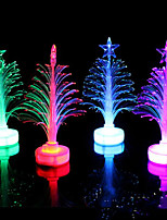 Fiber Optic Christmas Tree LED Colorful Color Small Christmas Tree Random Color