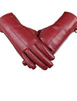 осенью и зимой высокого качества Пу сенсорный экран теплые перчатки