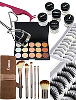 Concealer/ContourShadowMakeup Brushes Wet Eyes / Face Coloured gloss / Coverage / Long Lasting / Other China Others