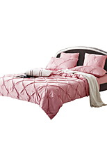 Bedtoppings Silk Cotton Duvet cover 6 pcs set Hand-made Queen size