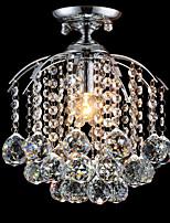 MAX60W Vestavná montáž ,  moderní - současný design / Tradiční klasika / design Tiffany / Ada Pochromovaný vlastnost for Křišťál / LED /