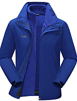 Hiking Softshell Jacket / Ski/Snowboard Jackets / Windbreakers / Tops Men'sWaterproof / Breathable / Thermal / Warm / Quick Dry /