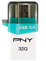 OU7 PNY mobile phone. Dual computer USB 32GB