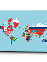 World Flag Map Pattern MacBook Computer Case For MacBook Air11/13 Pro13/15 Pro with Retina13/15 MacBook12