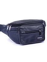 Men Cowhide Outdoor Waist Bag
