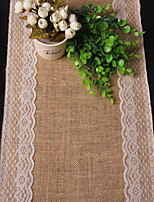 Texture Table Runner  Linen Material Table Decoration / Dinner Decor
