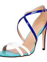 Women's Sandals Summer Others Party & Evening / Dress / Casual Stiletto Heel Buckle Blue