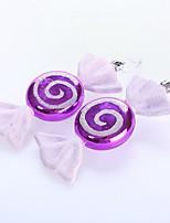 2pcs noël forme de bonbons décoration boule pendentif ornements d'arbre de Noël plaqué de 15cm bonbons fournitures événement de fête