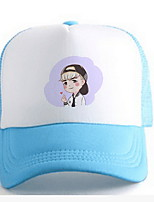 Cap Men and women han edition mesh hat Hip-hop cap cap couples baseball cap Breathable / Comfortable  BaseballSports