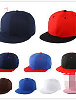 The new flat along the hat Hip-hop cap plate cap Cap baseball cap canvas Breathable / Comfortable Unisex BaseballSports