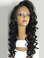 Hot Synthetic Lace Front wigs Curly Natural Black Color Top Quality Heat Resistant Synthetic Hair Wigs For Women
