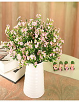 1 1 Branch Plastic / Others Baby Breath Wall Flower Artificial Flowers