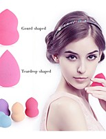 Houppette/Eponge Eponges Naturelles 1pc Rond 5cm*4cm*4cm NormalNoir / Bleu / Vert / Rouge / Violet / Rose / Jaune / Blond / Blanc /