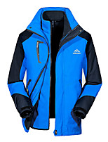 Hiking Softshell Jacket / Tops Men's Thermal / Warm / Protective / Comfortable Fall/Autumn / Winter TeryleneRed / Blue / Royal Blue /